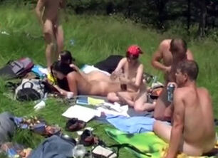 Teen nudist camp photo