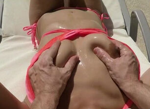 Oiled asian porn