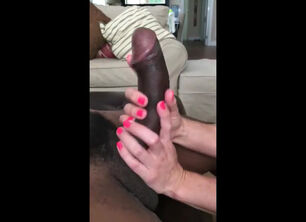 Interracial cum in mouth gif